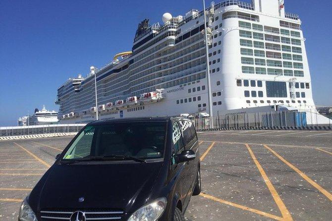 VIP Experience Private Transfer from the Civitavecchia Port to Rome