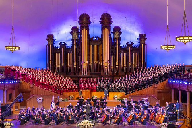 Tabernacle Choir Performance + Salt Lake City Bus Tour