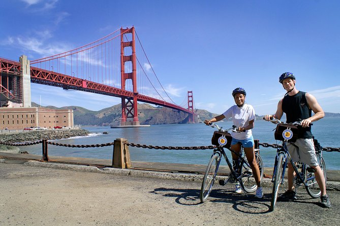Full Day Bike Rental from Fisherman's Wharf