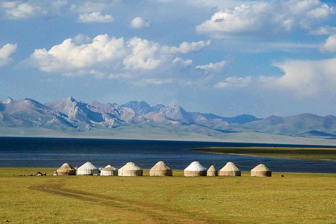 Yurt camp at Song Kul