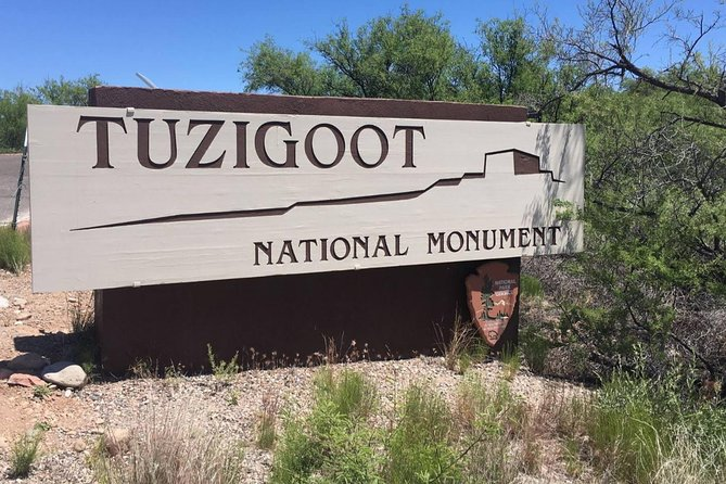 Tuzigoot is an Anazazi village beautifully preserved.