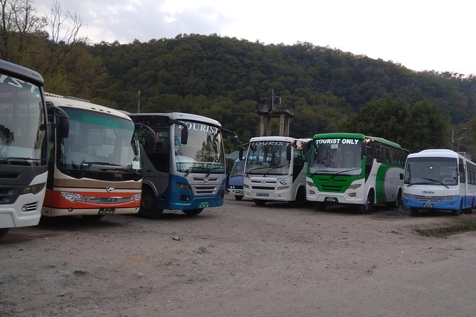 Tourist Bus Intercity Hassle free Shuttle all over Nepal