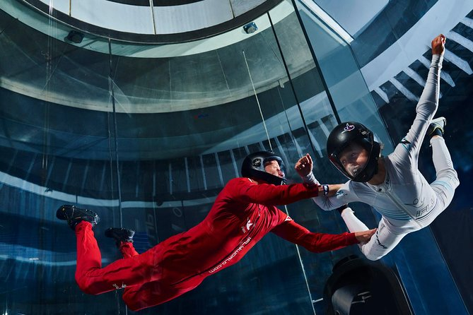 El Paso Indoor Skydiving Experience with 2 Flights & Personalized Certificate