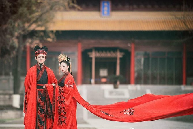 Traditional Chinese Hanfu Costume Rental in Beijing