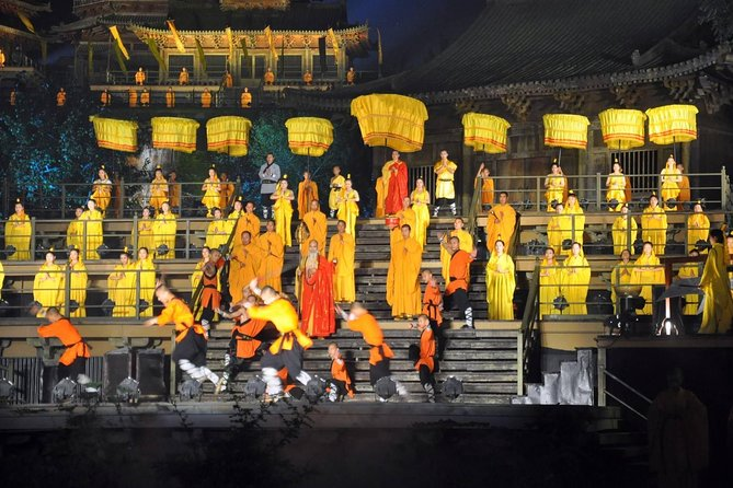 Independent Tour: Shaolin Temple with Zen Music Shaolin Ceremony from Luoyang
