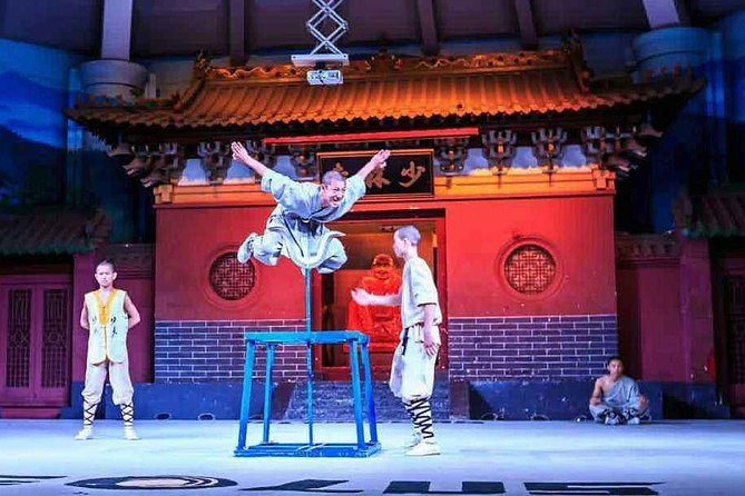Private Independent Tour to Shaolin Temple from Luoyang