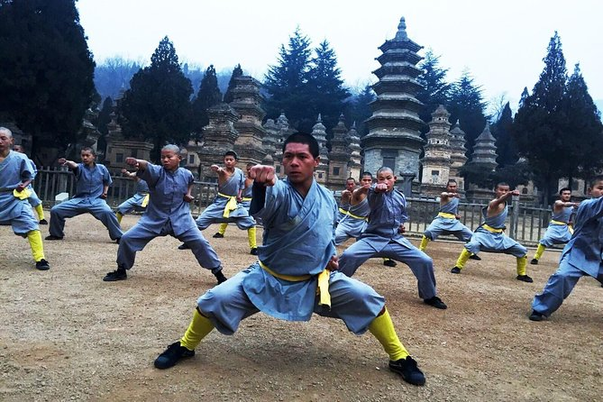 Shaolin Temple Afternoon Tour with Zen Music Ceremony and Dinner from Luoyang