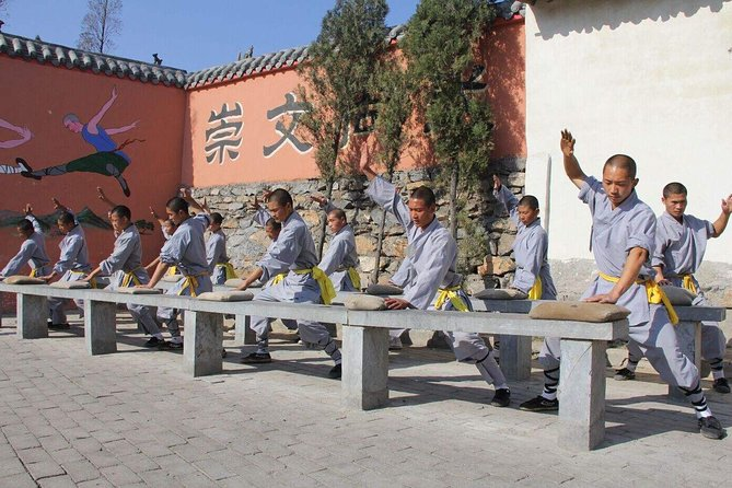 Shaolin Temple Overnight Stay Experience with Martial Art Practice and Activities from Luoyang