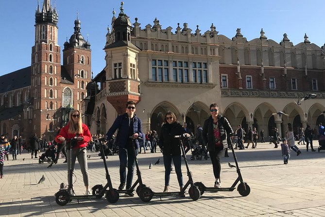 Electric Scooter Rental Krakow 3 Hours
