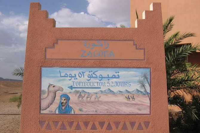 Two Days Tour to Zagora from Marrakech with Camel Trek and Berber Camp