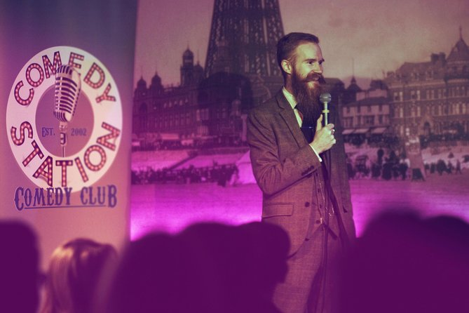 The first and only purpose built comedy club in Blackpool!
