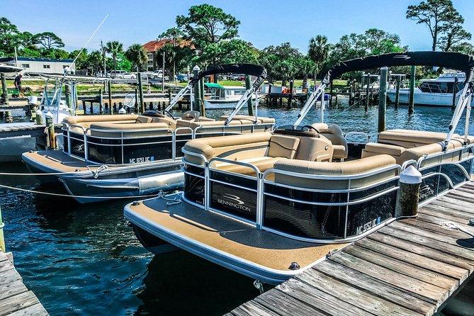 Crab Island Full Day Pontoon Boat Rentals