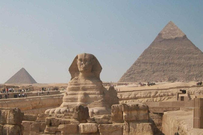 Cairo By Bus from Hurghada (Sphinx, Pyramids, Egyptian Museum and Lunch )