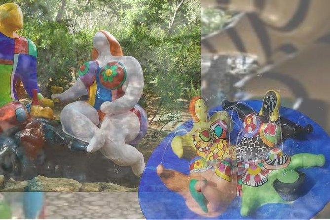 Tarot Garden by Niki de Saint Phalle Entry Ticket