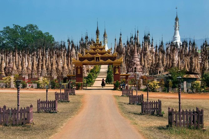 Beautiful Views and Local Markets and Stunning Buddhist Icons in Myanmar