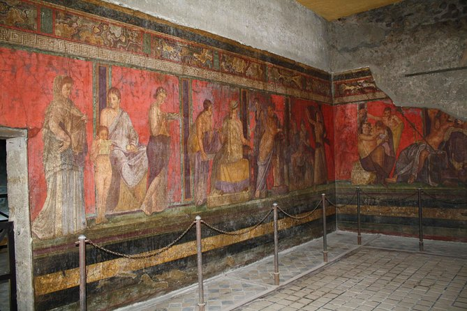 Pompeii and Villa Dei Misteri Ruin Tour from Amalfi Coast Towns