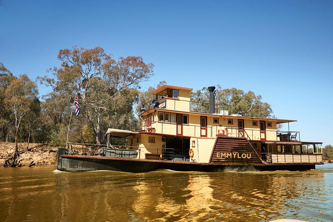Echuca Murray River Cruise by Emmylou Paddle Steamer with Optional Lunch