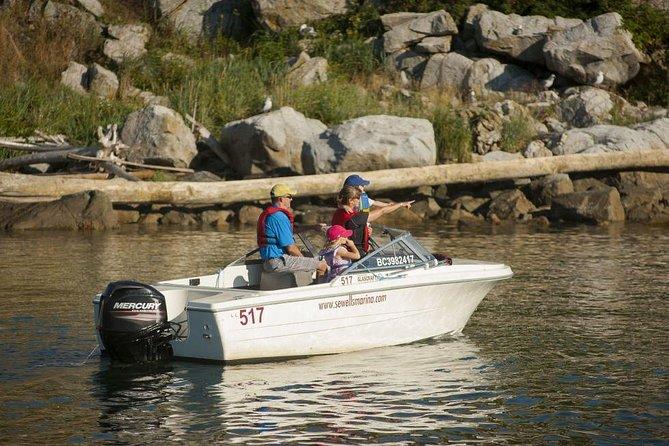 Vancouver 17-Foot Self-Driven Boat Rental
