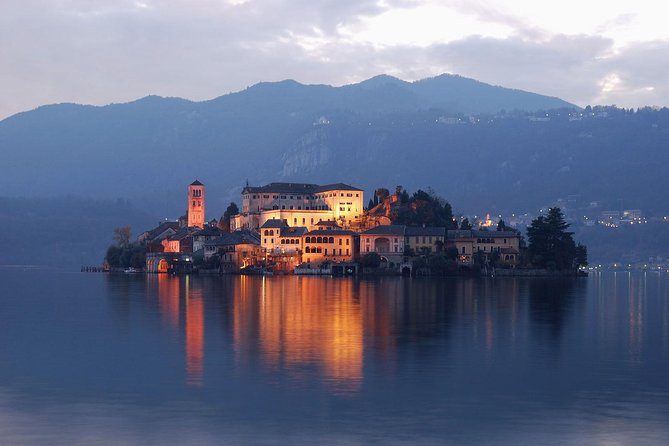 Tour of Lake Maggiore and Orta san Giulio from Arona