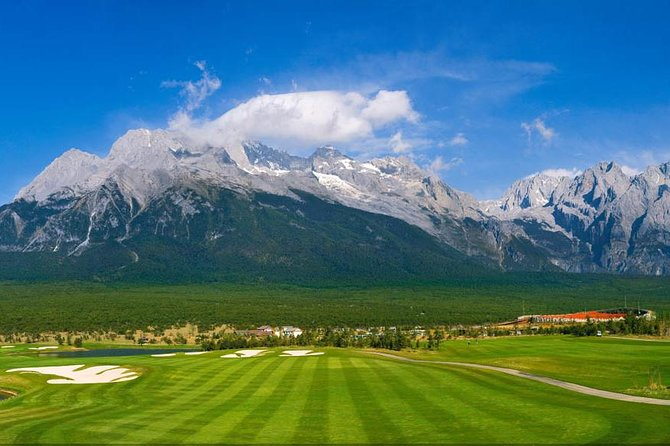 1 Day Golf Tour at Jade Dragon Snow Mountain with Sightseeing