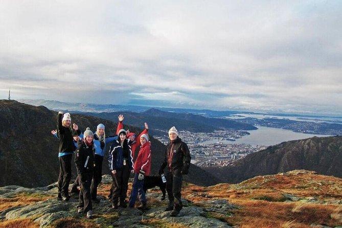 Panoramic Hike Across Vidden: From Ulriken to Floyen