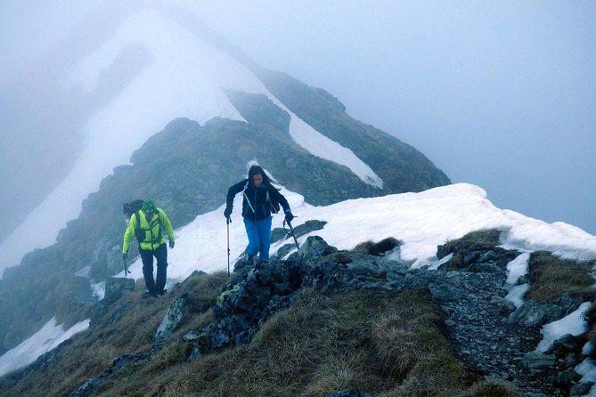 On top of Romania's highest peak