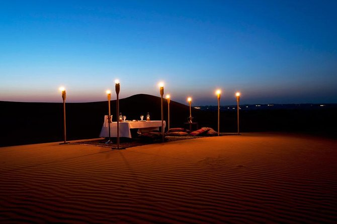 Dune Bashing and Romantic Desert Dinner in Mesaieed from Doha