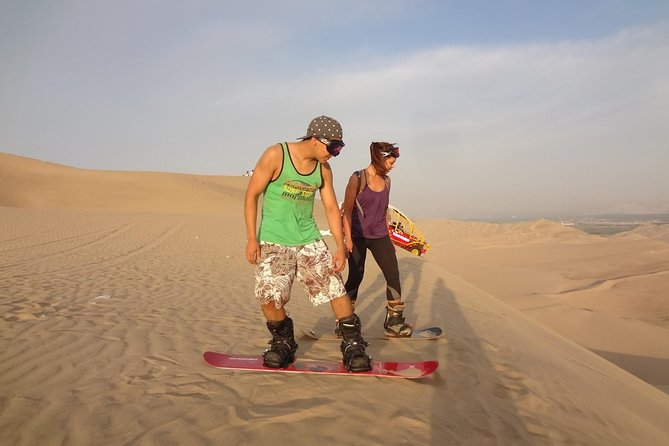 Sand Boarding and Dune Bashing Safari Doha