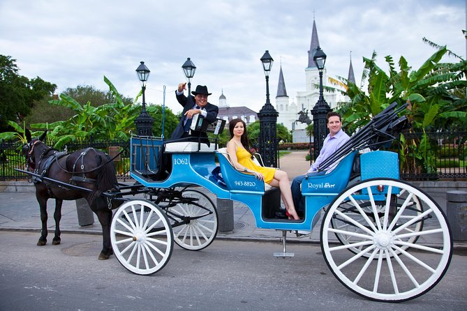Private Carriage Tour of French Quarter in New Orleans