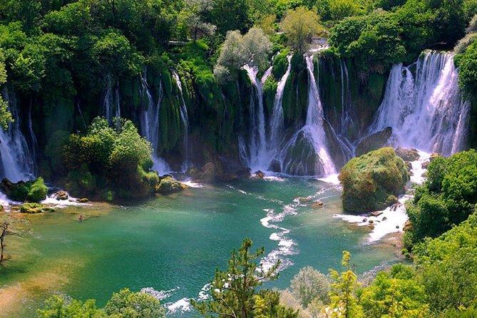 Kravice Falls Medugorje Mostar Pocitelj Private Day Trip from Dubrovnik