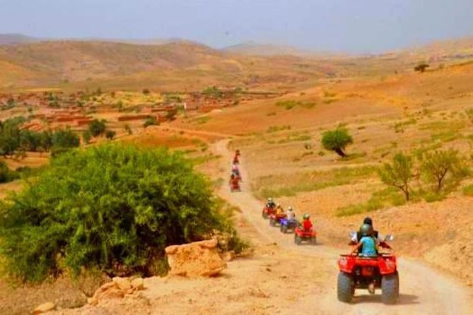 Camel and Quad Riding Half-Day Tour in Marrakech
