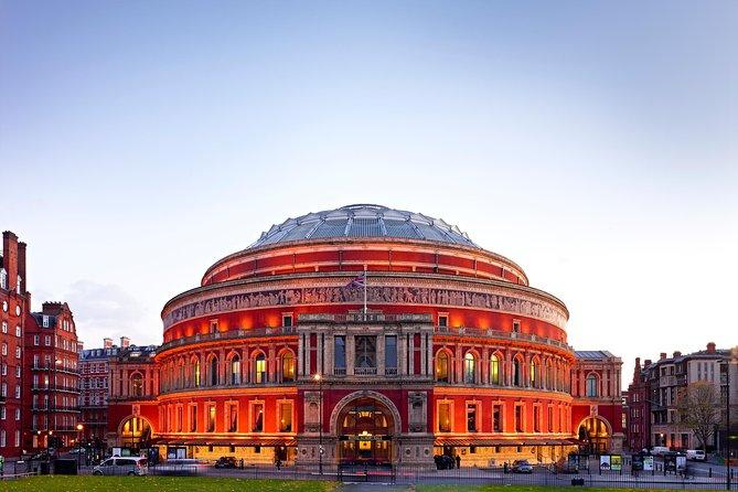 1-timers hemmelig historie Tour of the Royal Albert Hall i London