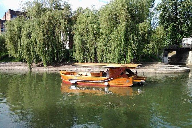 Ljubljanica Sightseeing River Cruise