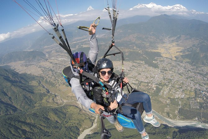 Paragliding adventure in Pokhara from Sarangkot