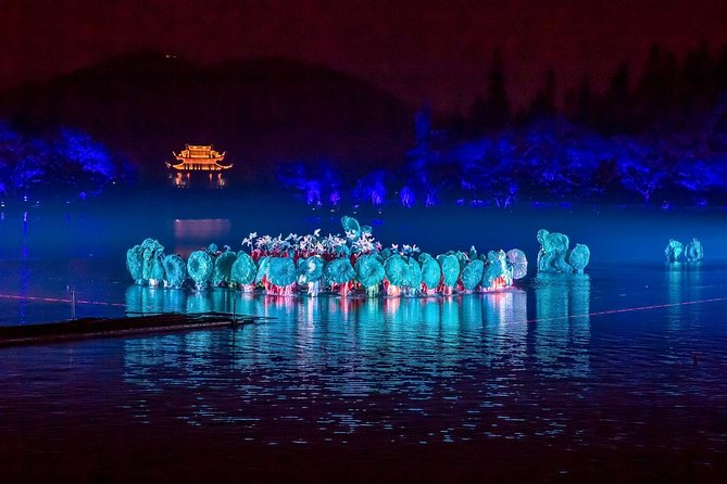 Memórias Duradouras do Hangzhou West Lake Show de Bilhete VIP com Transfer Privado