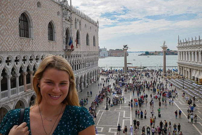 Venice Walking Tour with St. Mark's Basilica and Terraces & Water Taxi Ride