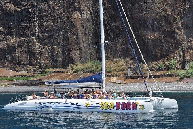 Excursão de meio dia de catamarã saindo de Funchal