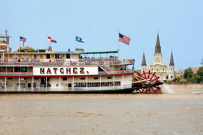 New Orleans Steamboat Natchez Harbor Cruise with Live Music