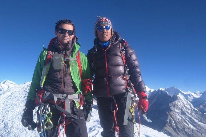 Mera,Island & Lobuche: Three Peak Climbing Adventure