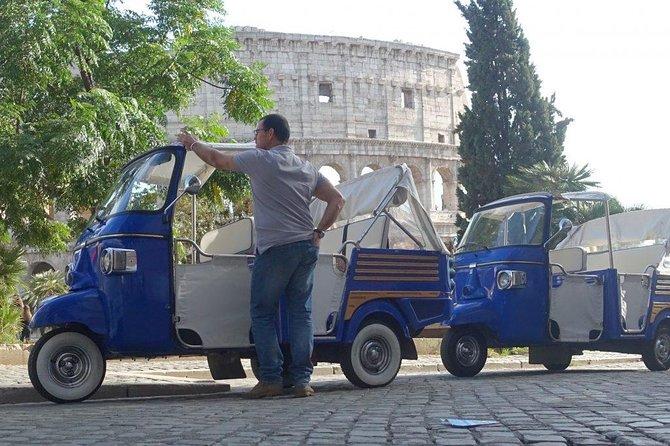 Ape Calessino Tour - Rome by night