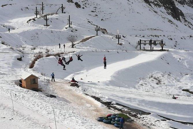 Tour Farellones Park - snow clothes - Admission ticket