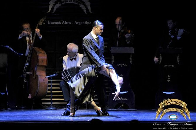 La Ventana Dinner and Tango Show with Optional Private City Tour