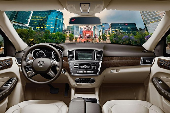 Private Arrival Transfer from Mexico City airport to Central Hotels