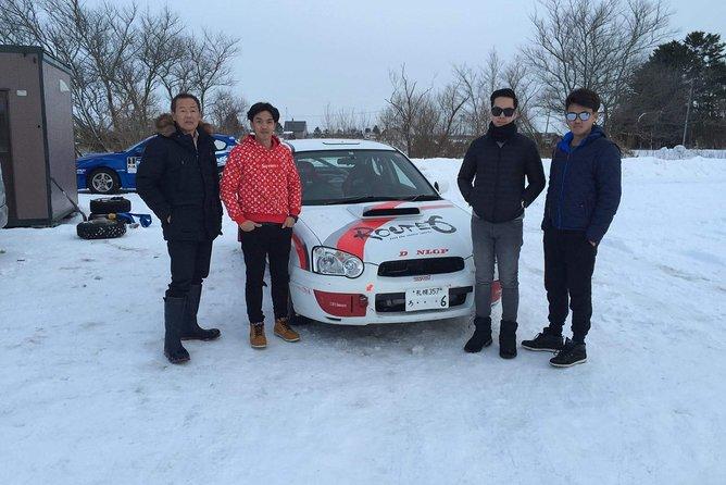 Samurai snow drift