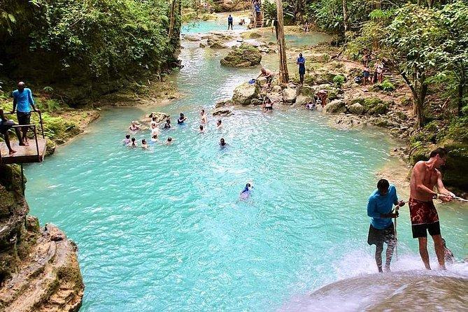 Island Gully Falls (Blue Hole) Ocho Rios