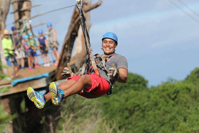 7-Line Maui Zipline Tour on the North Shore