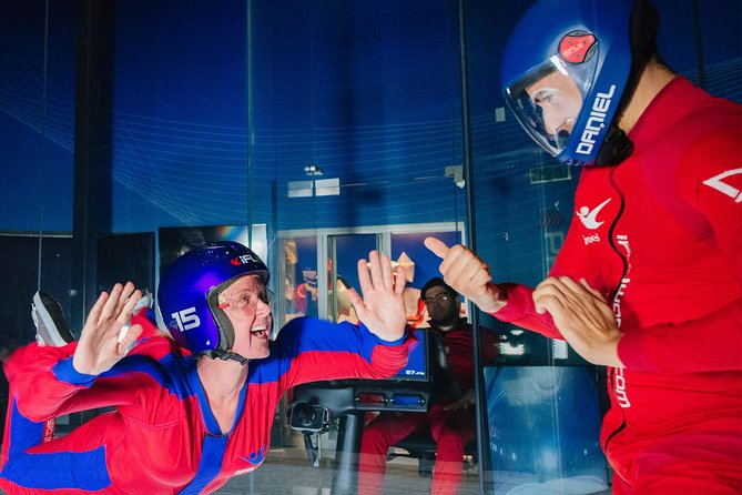 Houston Memorial Indoor Skydiving with 2 Flights & Personalized Certificate