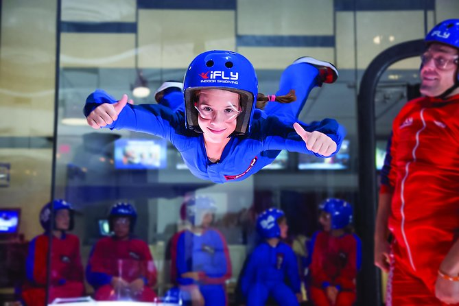 Westchester Indoor Skydiving Admission with 2 Flights & Personalized Certificate
