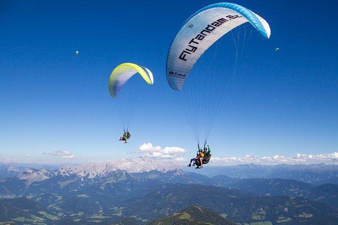 Tandem Paragliding Werfenweng Mt Bischling