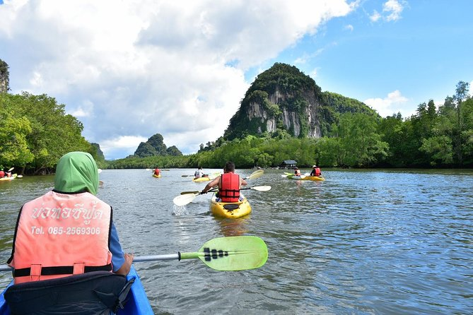 Full-Day Sea Cave Kayak Adventure in Bor Thor from Krabi